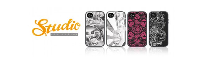 OtterBox displays artwork on its Studio Collection for Defender Series case for Apple iPhone 4/4S