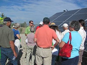 Northern Colorado's first solar garden dedicated at Poudre Valley REA in Windsor