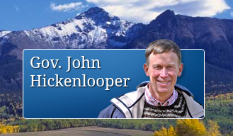 Colorado Govenor Hikenlooper