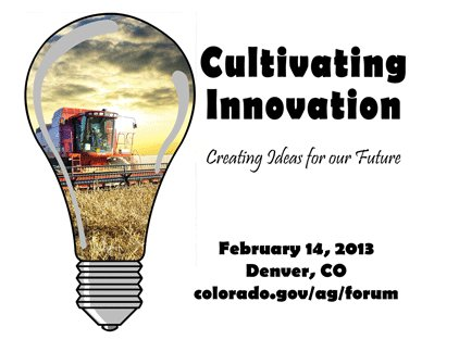 Governor's Forum on Colorado Agriculture to focus on innovation