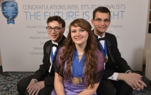 Springs teen wins $100K and first place in Intel Science Talent Search