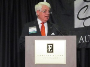 Research Triangle Regional Partnership leader Charles Hayes offers success insight at NCEDC annual meeting