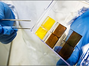 NREL researching new solar material that may offer less expensive way to generate electricity