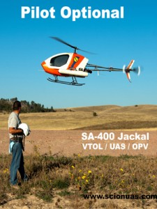 Scion UAS: SA-400 Jackal optionally piloted helicopter successfully completes required tests