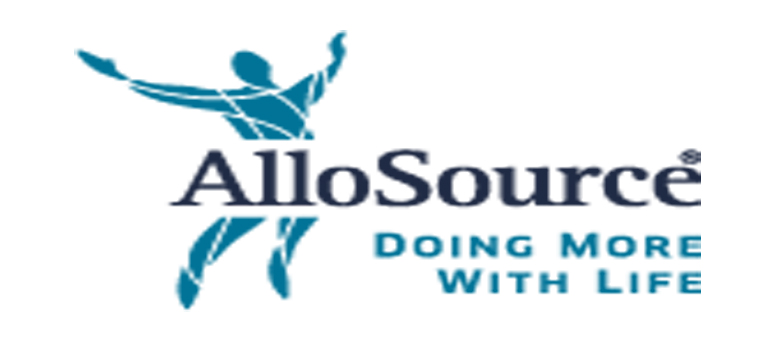 AlloSource announces first patients implanted with AlloWrap Amniotic Membrane in clinical study for two-level anterior cervical discectomy and fusion procedures