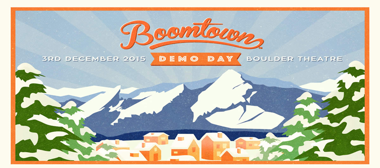 Fourth BOOMTOWN Demo Day class to present today at Boulder Theater