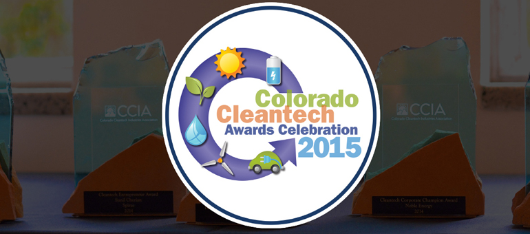 CCIA's Colorado Cleantech Awards Celebration is today at History Colorado Center in DT Denver