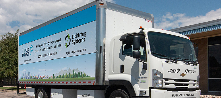 Lightning Systems and Plug Power partner to build electric delivery trucks