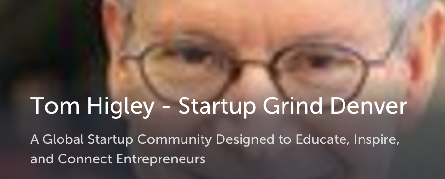 Tom Higley at StartupGrind Denver talks 10.10.10