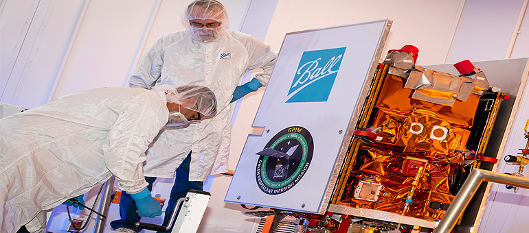 Ball Aerospace satellite ready for NASA Green Propellant Mission launch