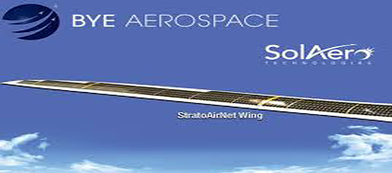 Bye Aerospace: Solar electric aircraft StratoAirNet hits milestone