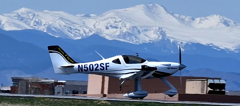 Bye Aerospace receives largest order for Sun Flyer 2 from Aspen Flying Club