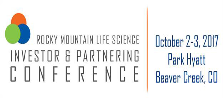 CBSA's Rocky Mountain Life Science Investor and Partnering Conference will include 40 investors, strategic partners