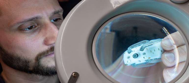 CU researchers use robot to look inside body