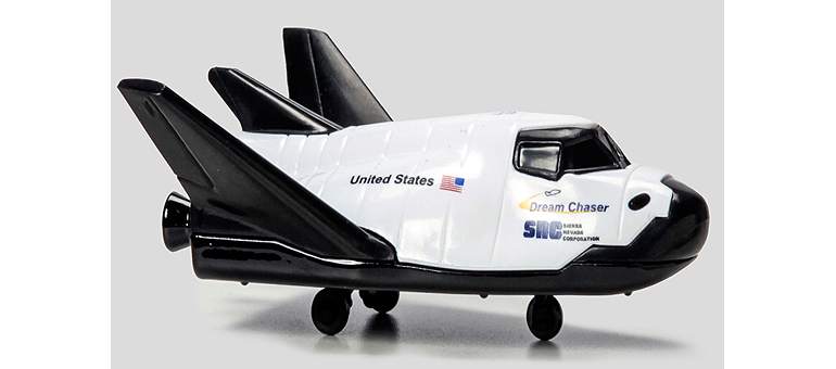 Dream Chaser spacecraft to be released as Matchbox toy by Mattel this month