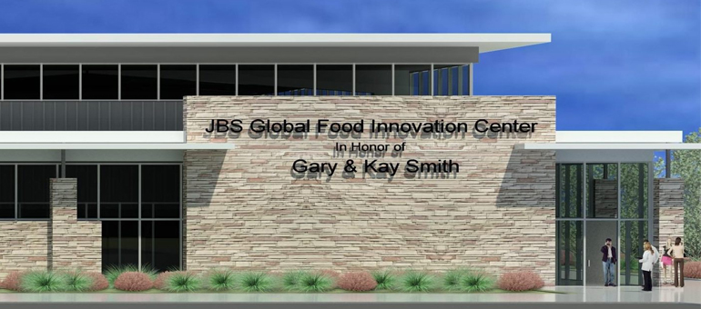 JBS USA donation to help build $15M Global Food Innovation Center at CSU