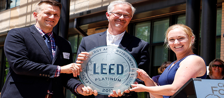 Fort Collins city building earns first LEED Platinum certification in state