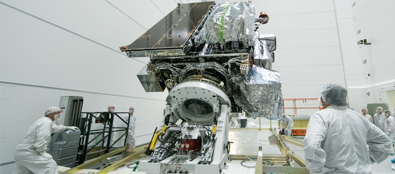 Lockheed Martin: Next-gen weather satellite sent to Fla. for March launch