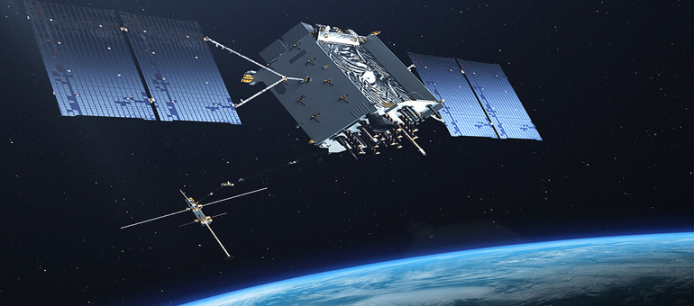 Lockheed GPS satellite built in Colorado for Air Force is first to be compatible with global navigation systems