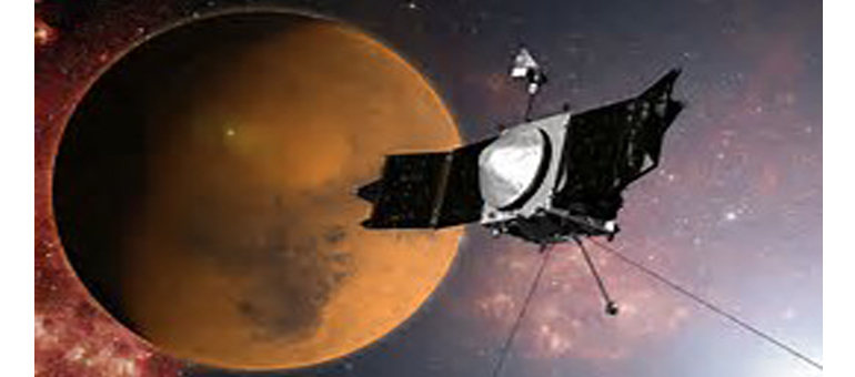 MAVEN spacecraft orbits Mars for 1,000 days