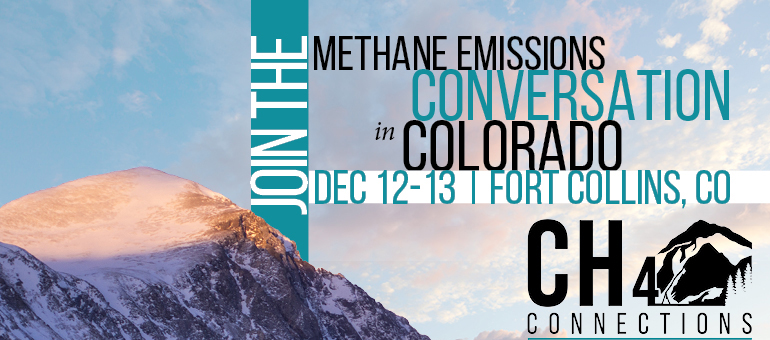 Speakers announced for CH4 methane emissions conference Dec. 12-13
