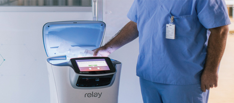 Swisslog rolls out first robot for med delivery